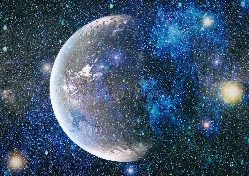 Sternfeld im Weltraum viele Lichtjahre weit von die Erde Elemente dieses Bildes geliefert von der NASA lizenzfreie abbildung