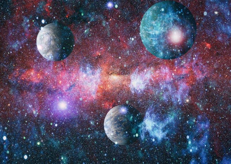 Sternfeld im Weltraum viele Lichtjahre weit von die Erde Elemente dieses Bildes geliefert von der NASA stock abbildung