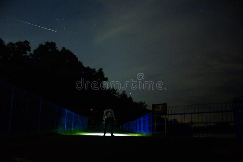 Sternschnuppe stockbild