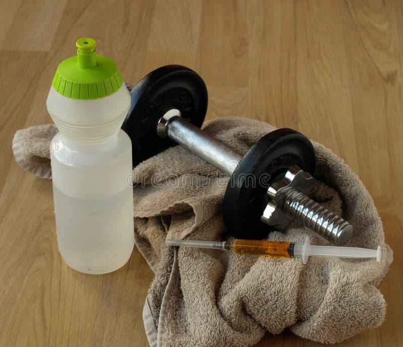 steroider som utbildar vikt arkivbild