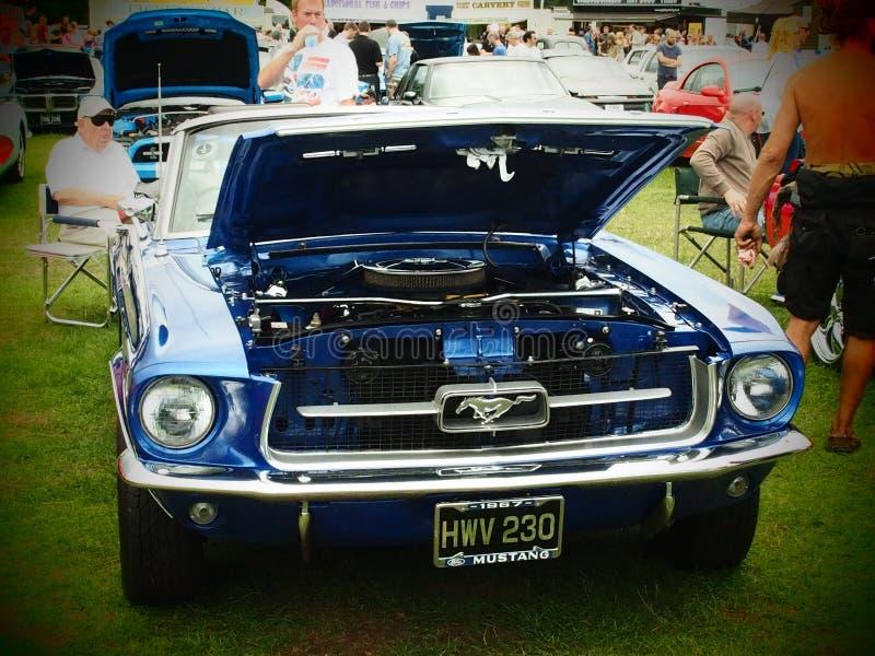 Sterren en Strepen Amerikaanse Auto royalty-vrije stock fotografie