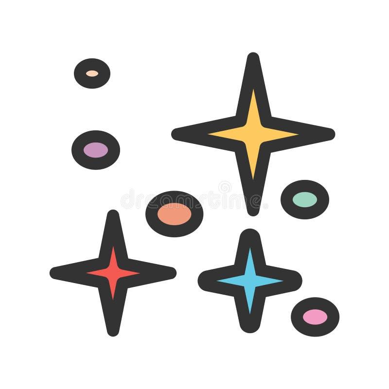 Sterren II vector illustratie