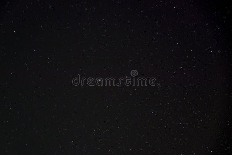 Sterrige nachthemel stock fotografie