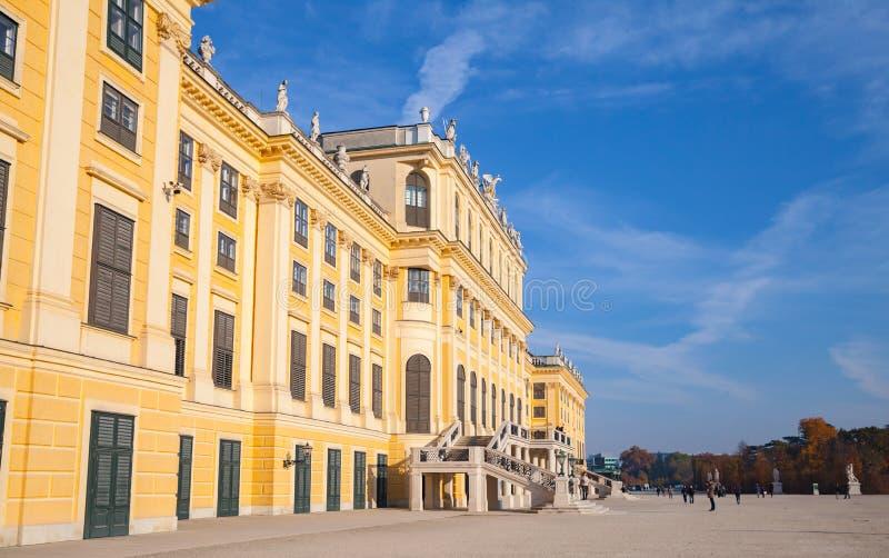 ?sterrike vienna Schonbrunn slott royaltyfria bilder