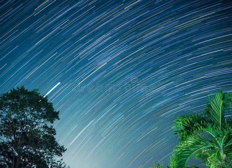 Stersleep bij sisaket Thailand stock afbeelding