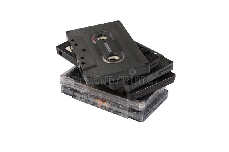 Sterta ścisłe kasety fotografia royalty free