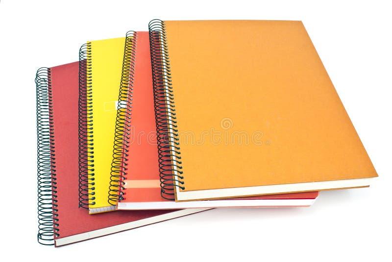Sterta ślimakowaci notatniki zdjęcie royalty free