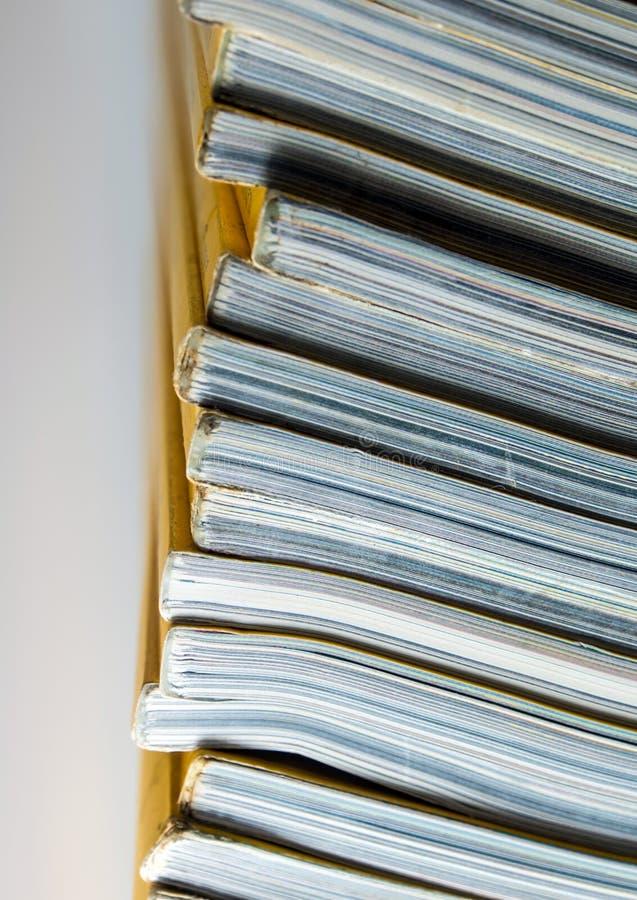 Sterta żółty miesięcznik zdjęcie stock