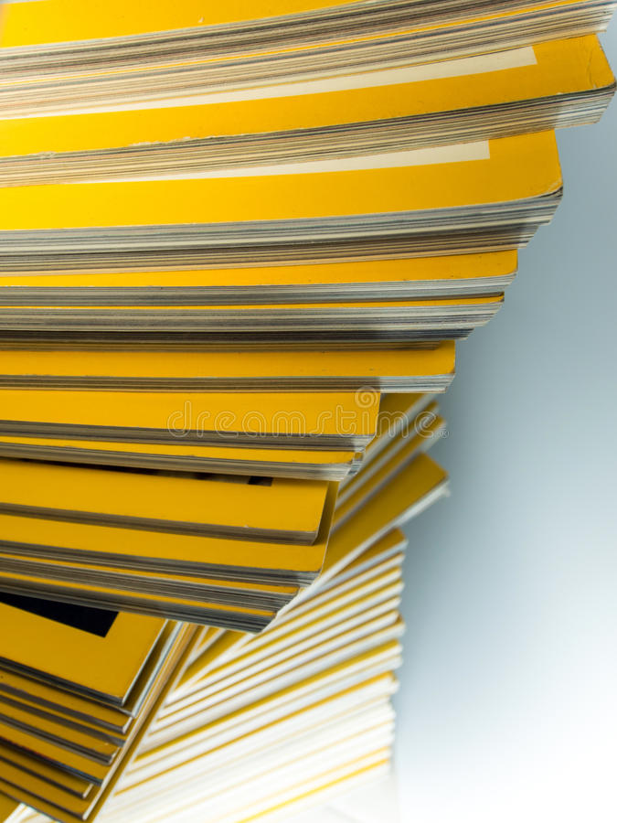 Sterta żółty miesięcznik zdjęcie royalty free