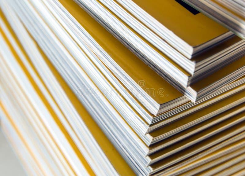 Sterta żółty miesięcznik obrazy royalty free