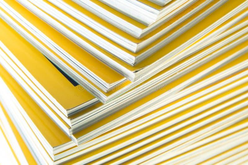 Sterta żółty miesięcznik fotografia royalty free
