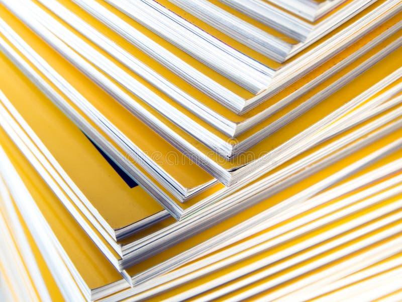 Sterta żółty miesięcznik obraz royalty free
