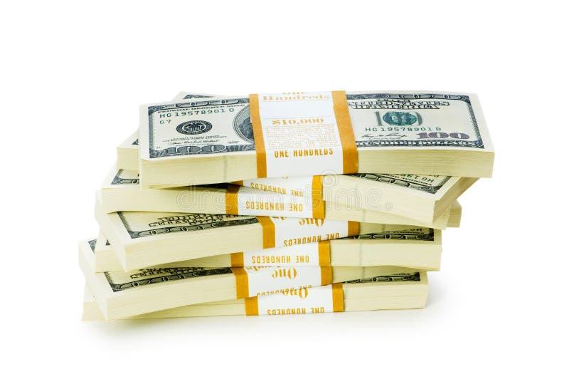 Download Sterta Dolary Odizolowywający Zdjęcie Stock - Obraz złożonej z inwestycja, robienie: 13335242