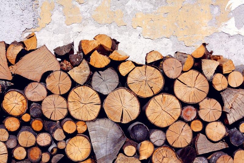 Sterta drewniane bele zdjęcie stock