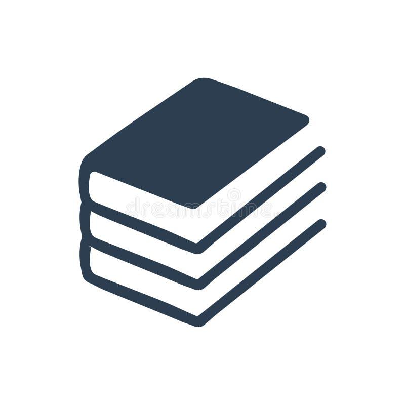 Sterta książki ikona ilustracja wektor