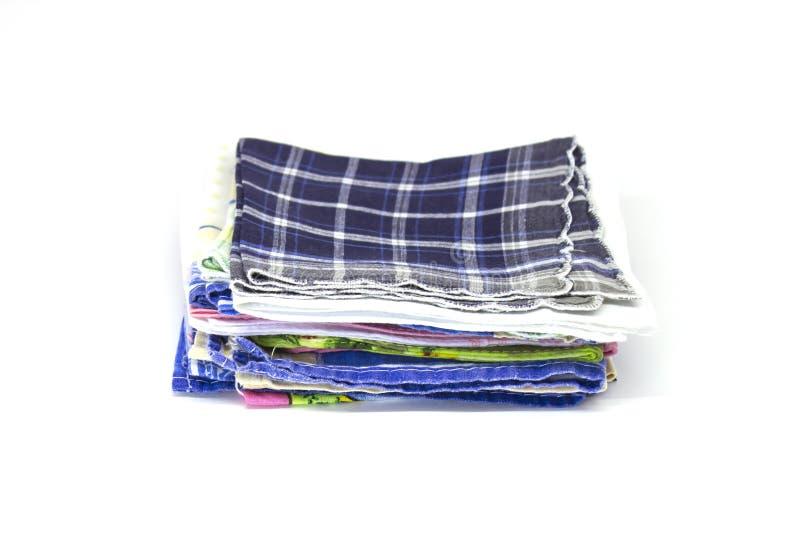 Sterta kwadratowe chusteczki obrazy stock