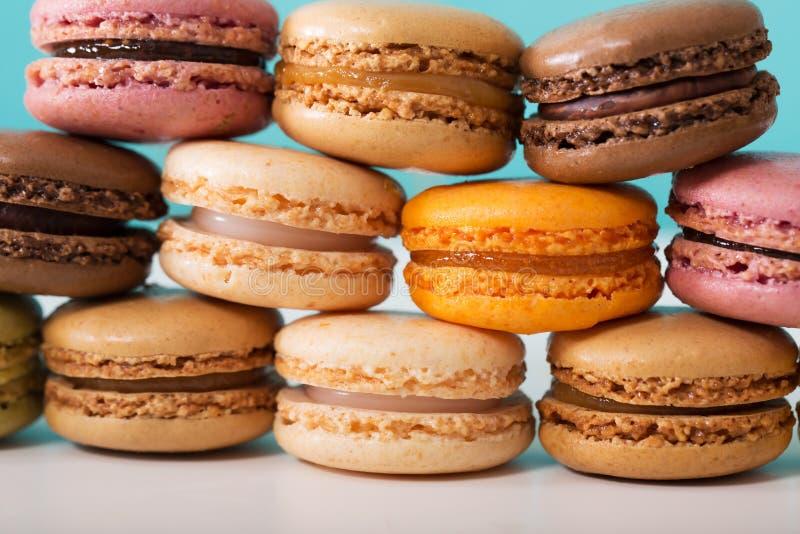 Sterta Macarons fotografia stock