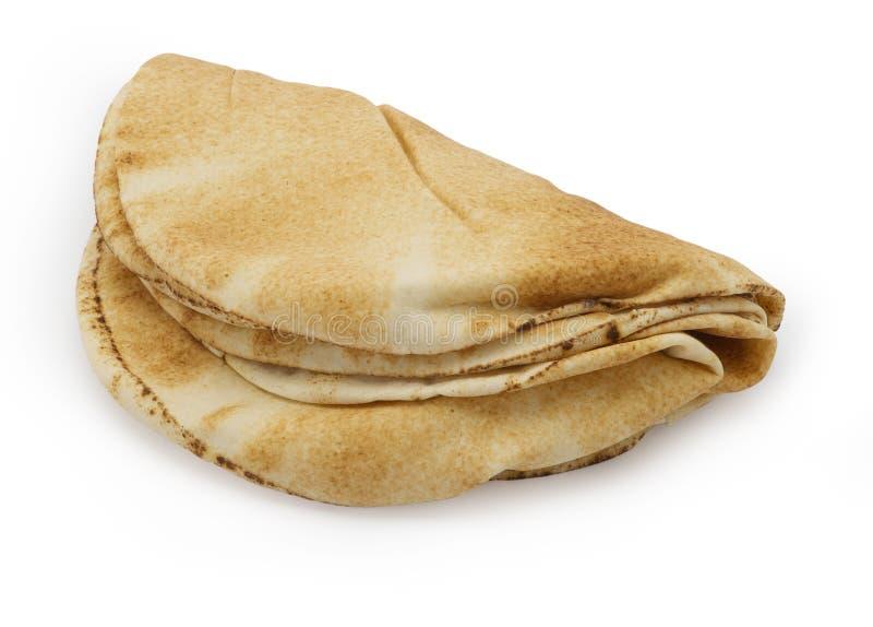 Sterta pita chleb zdjęcie royalty free