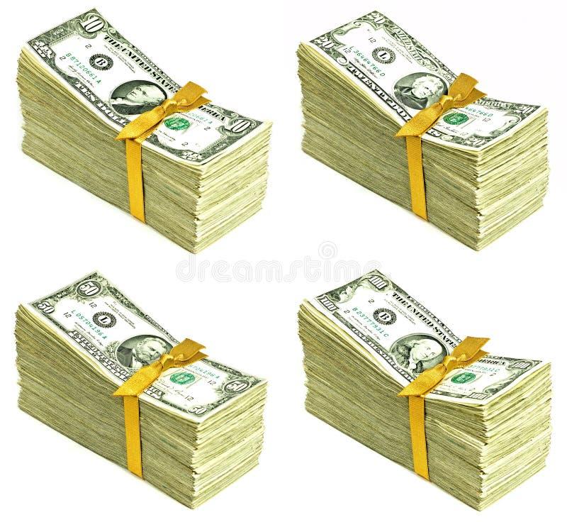 Sterta Stara Stany Zjednoczone waluta fotografia stock
