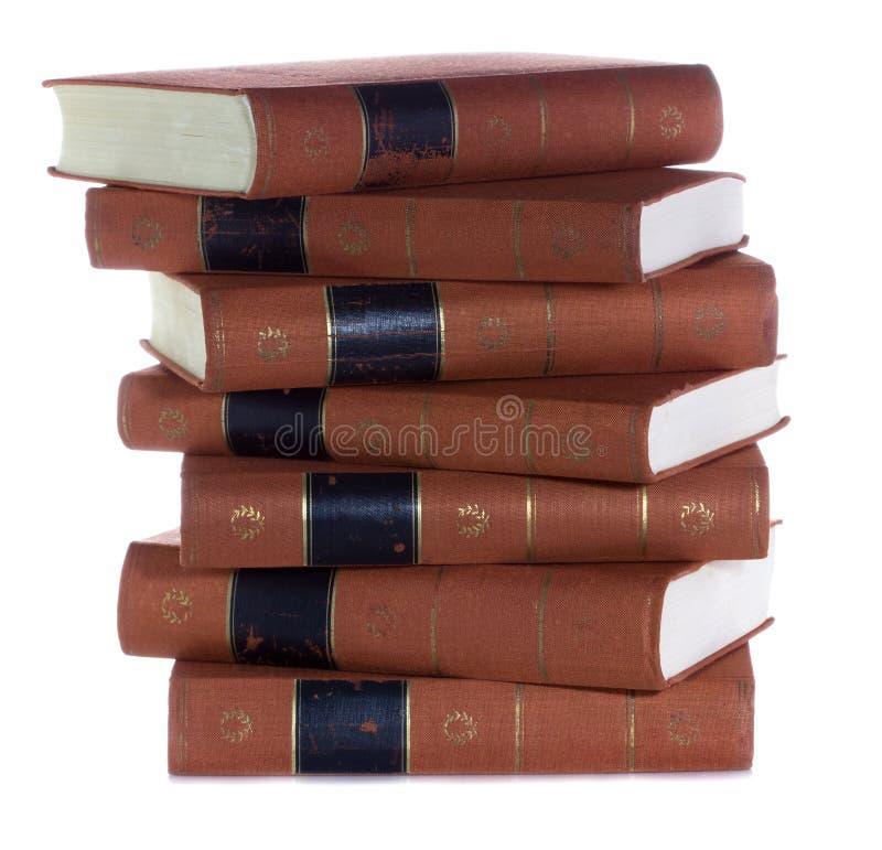Sterta Stare rocznik książki fotografia royalty free