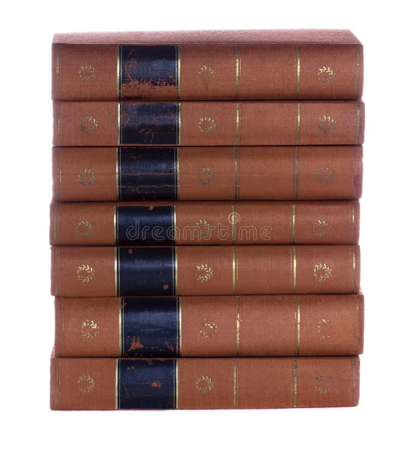 Sterta Stare rocznik książki obrazy stock