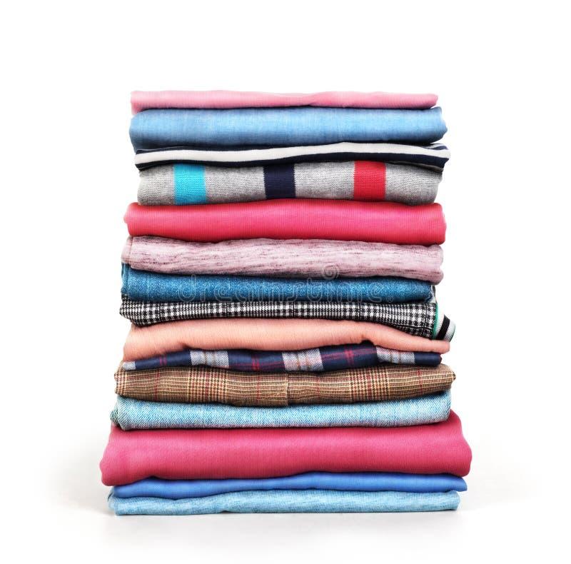 Sterta ubrania odizolowywający zdjęcia royalty free