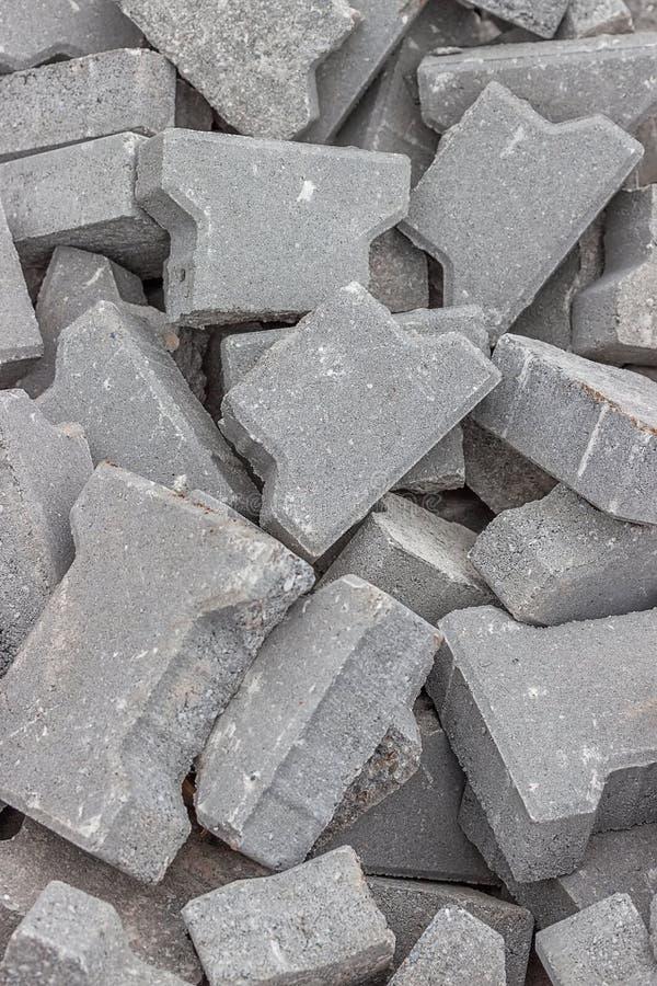 Sterty krakingowy betonowy brukarza tło obraz stock