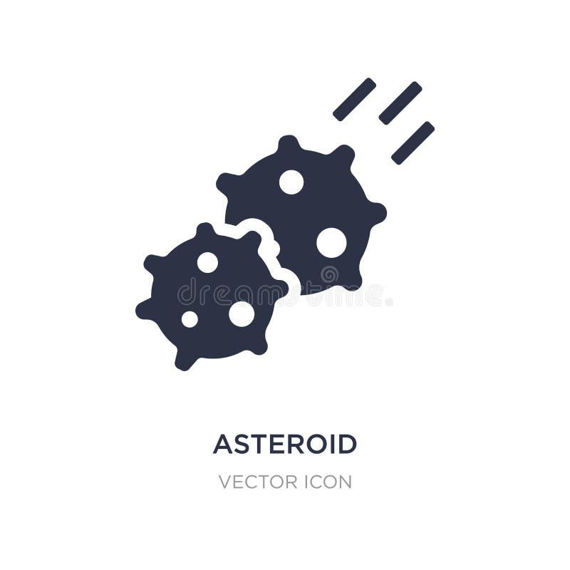 stervormig pictogram op witte achtergrond Eenvoudige elementenillustratie van Astronomieconcept stock illustratie