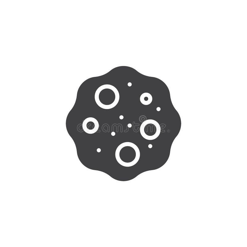 Stervormig vectorpictogram royalty-vrije illustratie