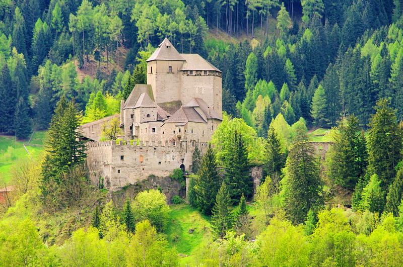 Sterzing castle Reifenstein. Sterzing in Italy, castle Reifenstein royalty free stock photo