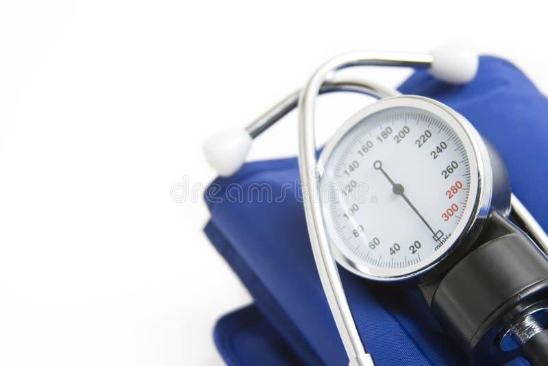 Stethoscope. Isolated on a white background stock image