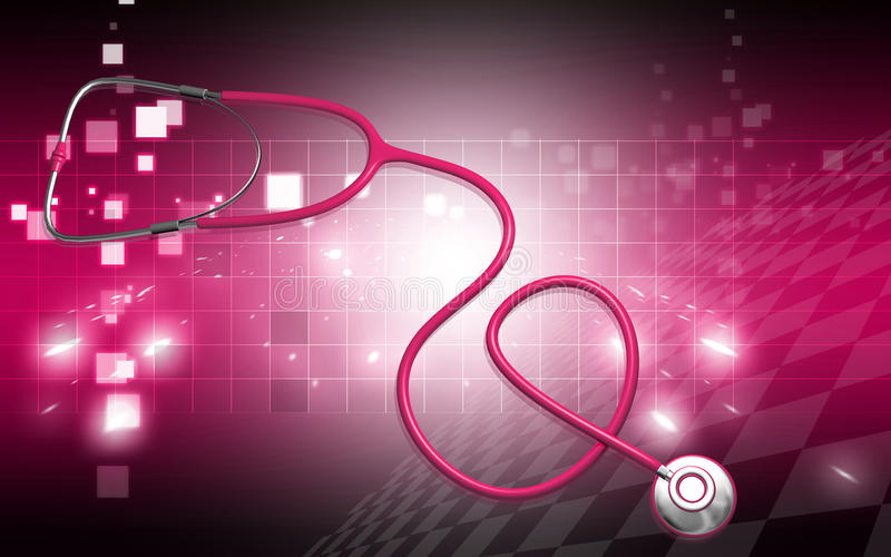 Download Stethoscope stock illustration. Image of digital, care - 16616537