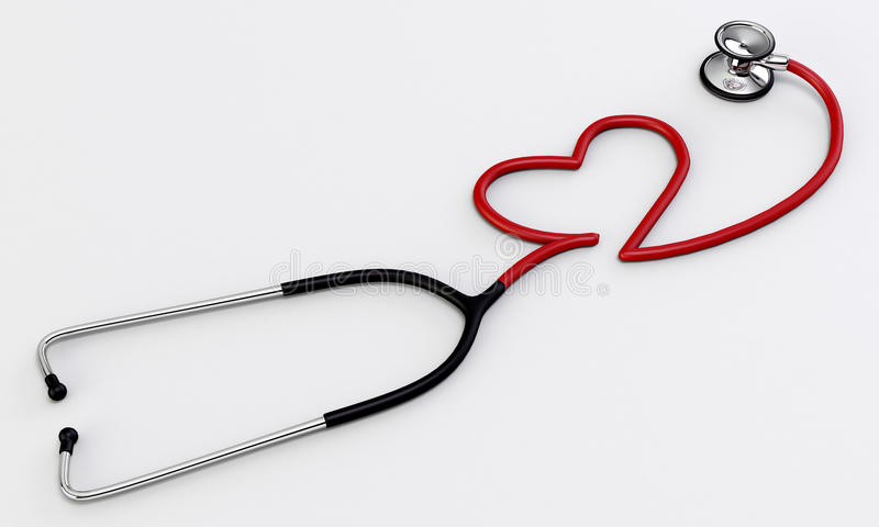Download Stethoscope stock illustration. Illustration of care - 28010043
