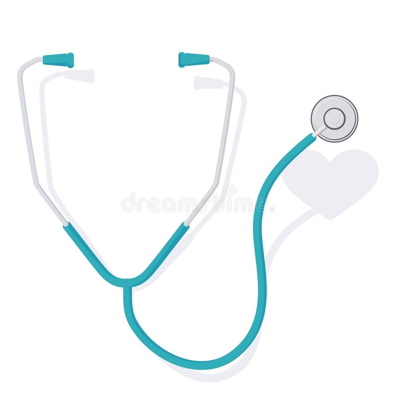 Free Stethoscope And Heart 3 Stock Photography - 120576252