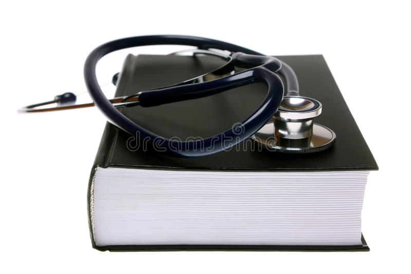 Download Stethoscope On Book Stock Photography - Image: 11497682