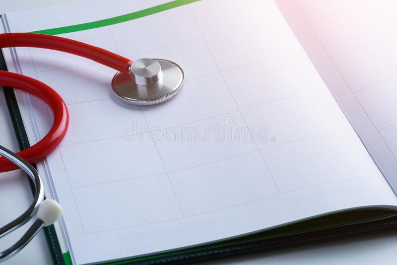 Doctor Appointments concepts stock image