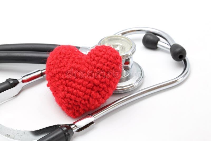 Stethoscope Heart royalty free stock photography