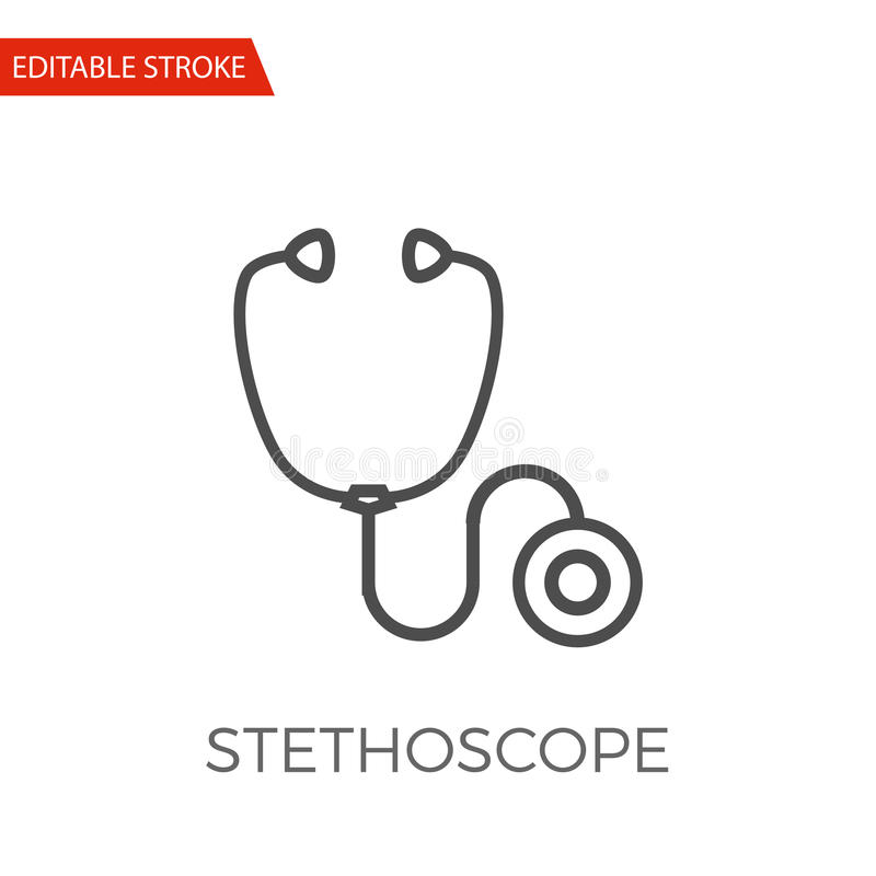 Stethoscope Vector Icon royalty free illustration