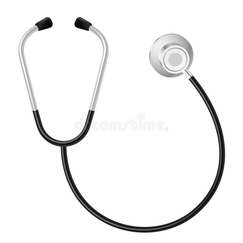 Stethoskop stock abbildung