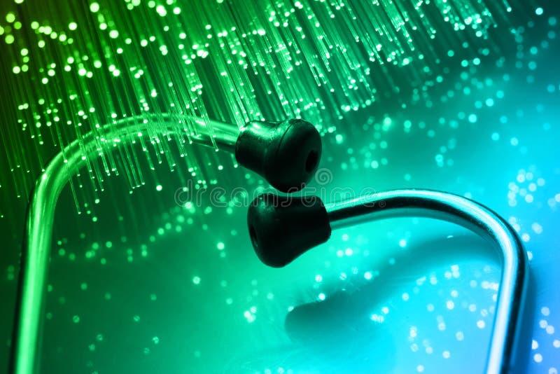 stetoscope royaltyfri foto