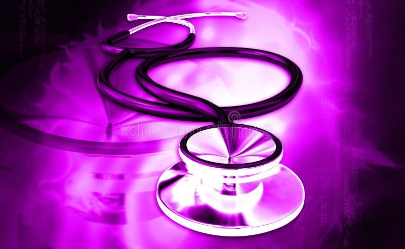 Stetoscopio illustrazione vettoriale