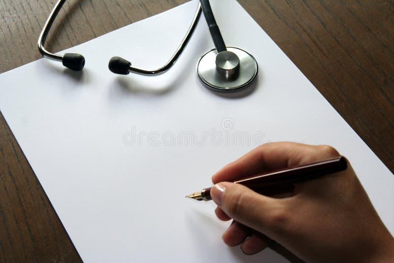 Stetoscopio immagine stock