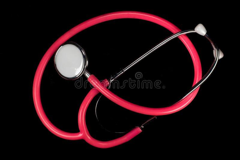 Stetoskop är bland de viktigaste hjälpmedlen en sjuksköterska eller en doktor royaltyfria foton