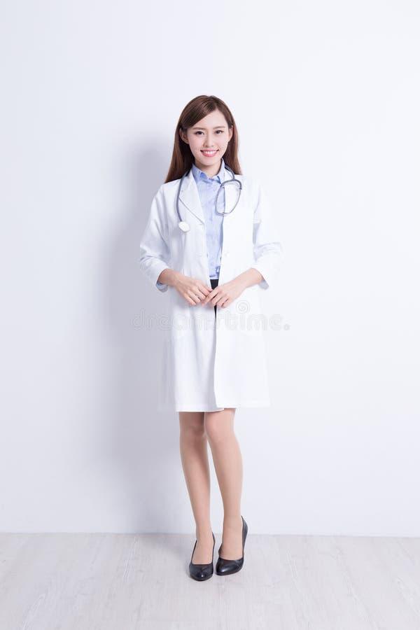stetoskop doktorska medyczna kobieta fotografia stock