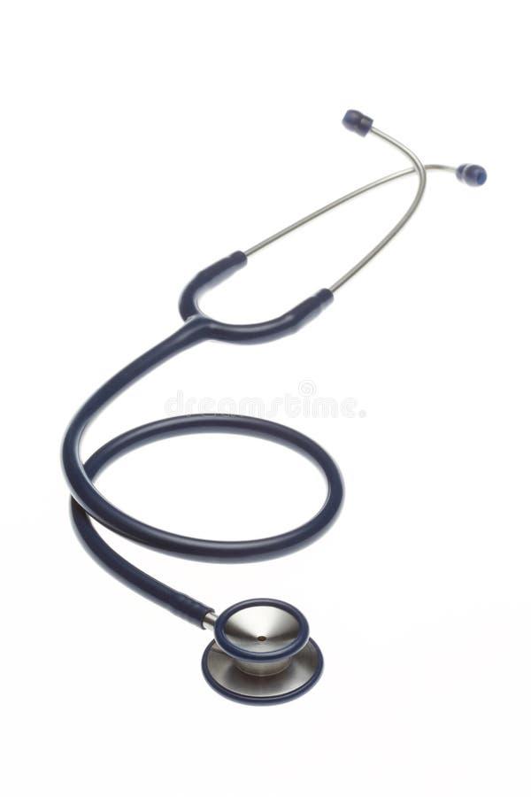 Stetoskop na białym tle odizolowywającym zdjęcia stock