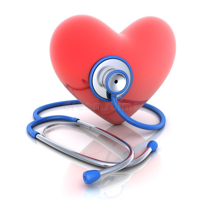 Download Stetoskop och härd stock illustrationer. Illustration av utrustning - 27287499