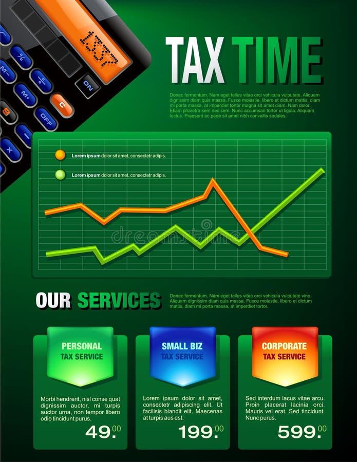 Steuer hält Broschüre instand