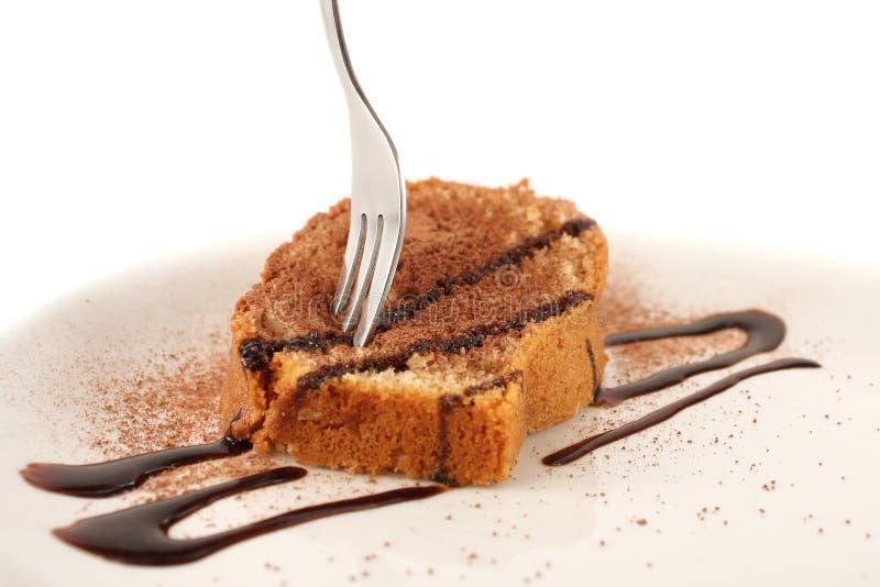 Steuern Sie gebackenen Kuchen automatisch an lizenzfreies stockfoto