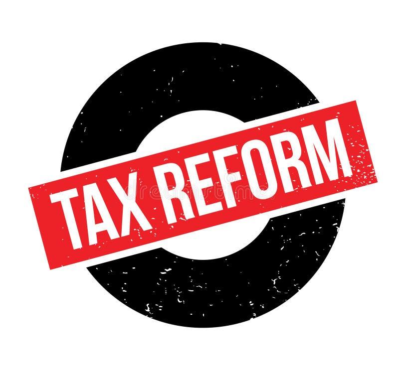 Steuerreformstempel lizenzfreie abbildung