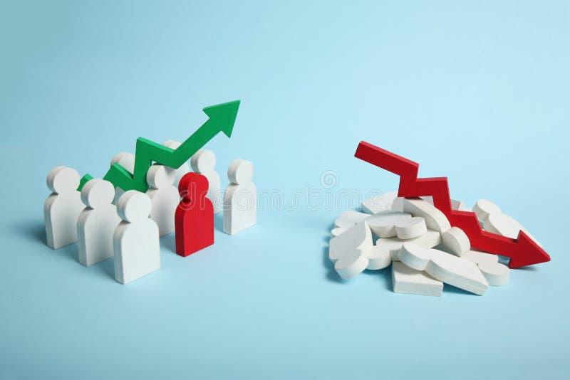 Steuerung zum Chaos und zum Auftrag, Verwirrung stockfoto